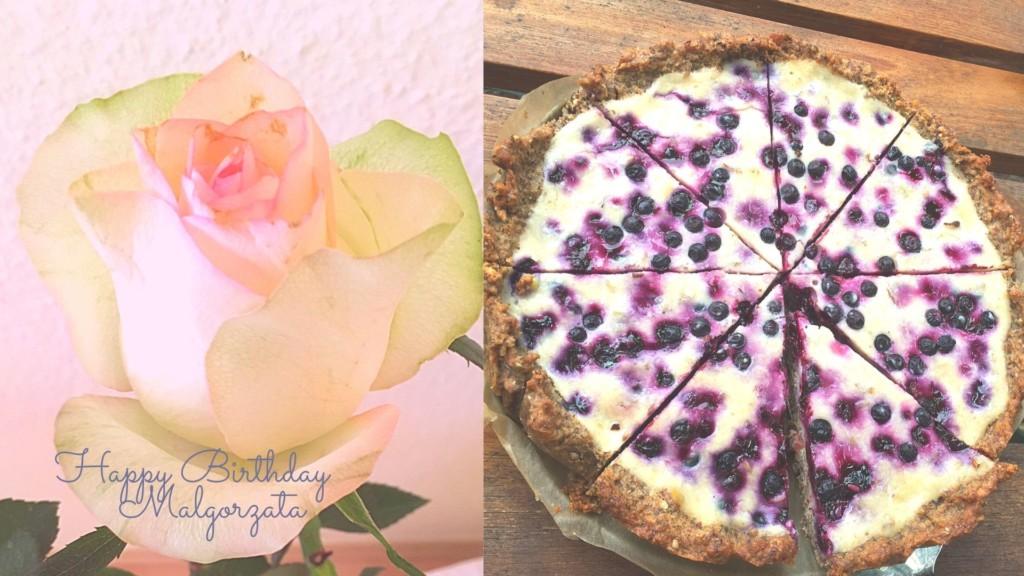 Blaubeer Lavendel Birthday Tarte